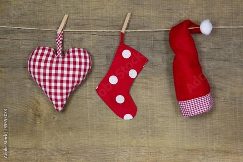 weihnachtsdekoration in rot von jeanette dietl. Black Bedroom Furniture Sets. Home Design Ideas