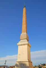 Roman obelisks Sallustiano at Trinita de Monti