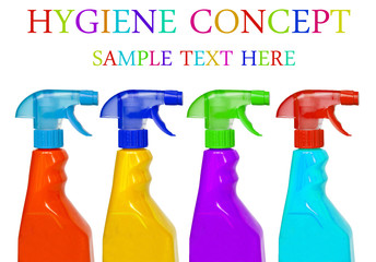 Hygiene cleaning concept