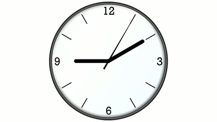 Clock quarter numbers
