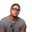 Handsome Man with Eyeglasses