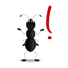 formica - punto esclamativo - esclamation mark