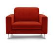sofa seat isolated on white background