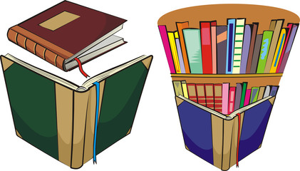 books and library