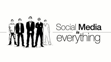 Social Media is Everything marketing men animation video