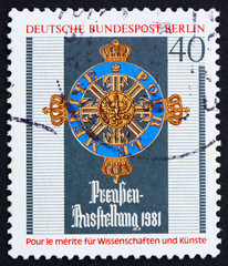 Postage stamp Germany 1981 Order of Merit