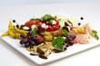 italian appetizers plate