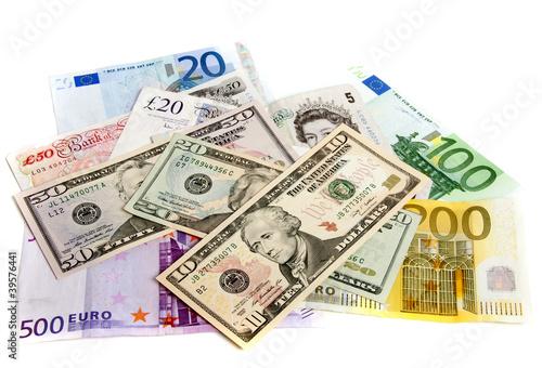 Valuta under pressure