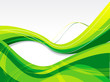 abstract green glossy background