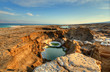 Sink Holes near the Dead Sea in Ein Gedi, Israel