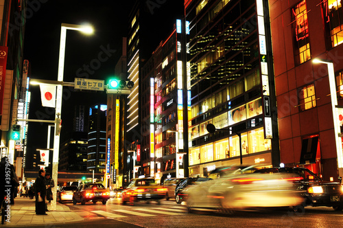 Poster Tokyo Tokyo by night