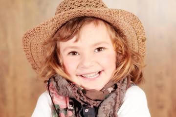 Kleines Cowgirl