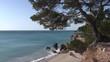 Cala de la costa mediterranea