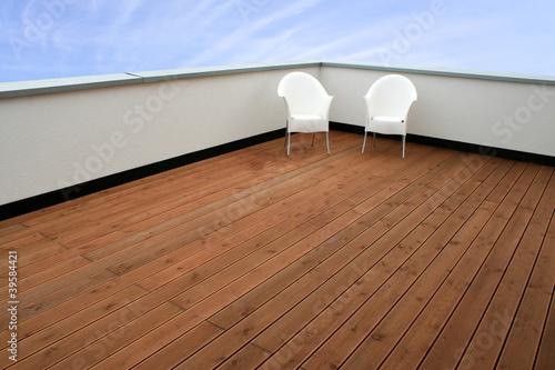 Moderne Luxus-Dachterrasse - 39584421