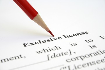 License form