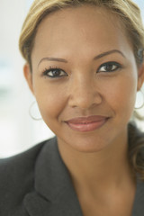 Close up portrait of businesswoman