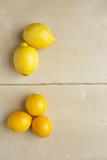 Lemons versus Meyer Lemons poster