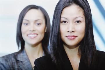Headshot of two women