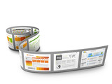 Webdesign, 3D, Homepage, Website, Vorlagen, Filmstreifen, Bilder