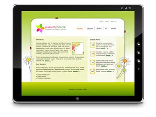 Tablet PC, Webdesign, Homepage, Hintergrund, Bildschirm, Monitor
