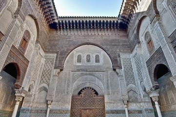 Misbahiya medersa at Fez, Morocco