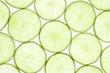 Frische Limetten Scheiben isoliert