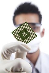 Microchip computer