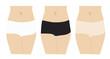 lingerie de femme ,slip : boxer, string, brésilien