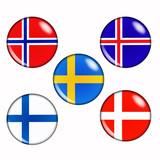 Scandinavian countries poster