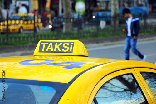 taxi in Turkey