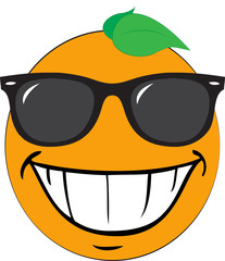 Orange Vector Cartoon