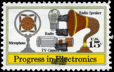 USA - CIRCA 1973 Electronics Progress