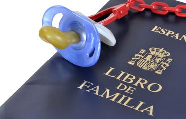 Libro de familia.