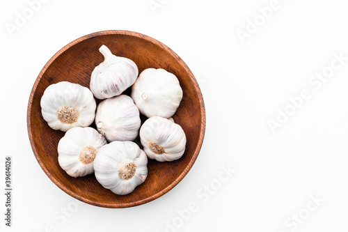 Garlic in a bowl