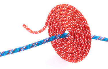 red rope spiral ad  blue inside