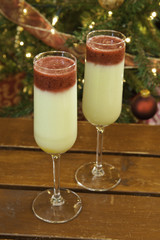 Christmas Fruit Smoothies