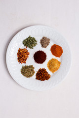 Plate of Spices