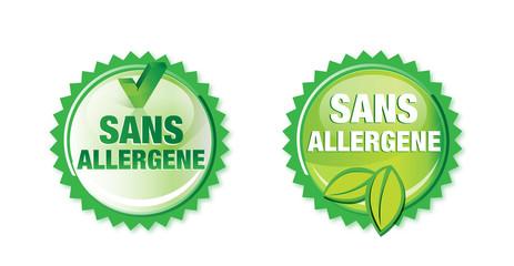 produit ne contenant pas d'allergène, sans allergene