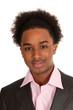Portrait of black teenager