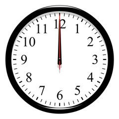Horloge - 12 heure précise
