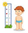 bambino e altezza