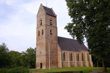 The church of Vledder in the Netherlands