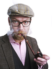 Fumando la pipa