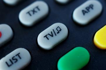 TV/music button on remote control