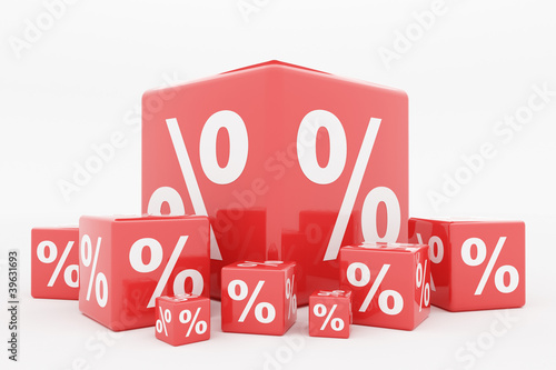 Red cube percentage