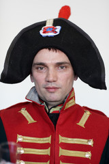 Man in uniform the Napoleonic soldier