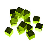 green blocks