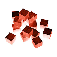 red blocks