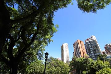 Platz Barrancas de Belgrano in Buenos Aires
