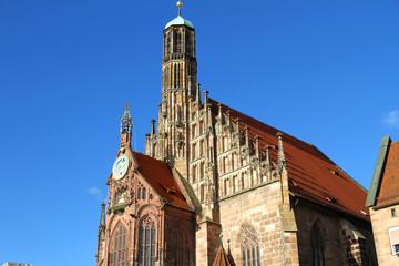Die Frauenkirche in Nürnberg
